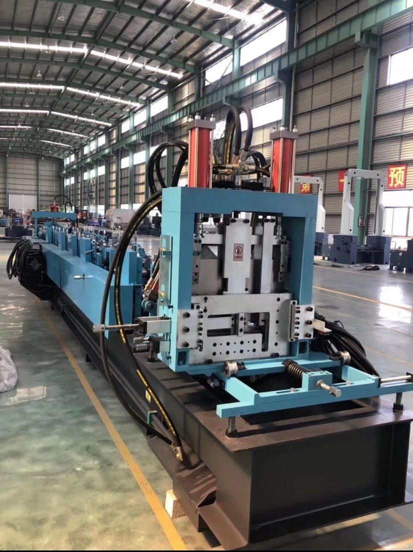 Cee &  Zee Purlin Roll Forming Machine